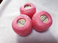 Ірис Пряжа Iris  YarnArt 100% бавовна, рожевий, 1 шт. № 0915