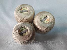 Нитки  для вязания хлопок ирис Ірис Пряжа Iris  YarnArt 100% бавовна, бежевий, 1 шт. № 0929