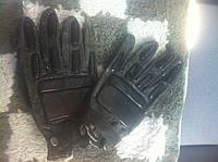 """Кожанные перчатки """"тактические"""" (НАТО)"""