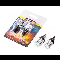 Лампы PULSO/габаритные/LED T20/W3x16d/13 SMD-5050/12v/Red/1 конт.