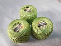Ірис Пряжа Iris  YarnArt 100% бавовна,салатовий 1 шт. № 0927