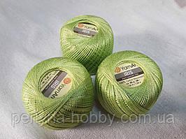 Нитки  для вязания хлопок для вязания хлопок ирис Ірис Пряжа Iris  YarnArt  бавовна,салатовий 1 шт. № 0927