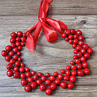 Буси Кольє (червоні) - дерево