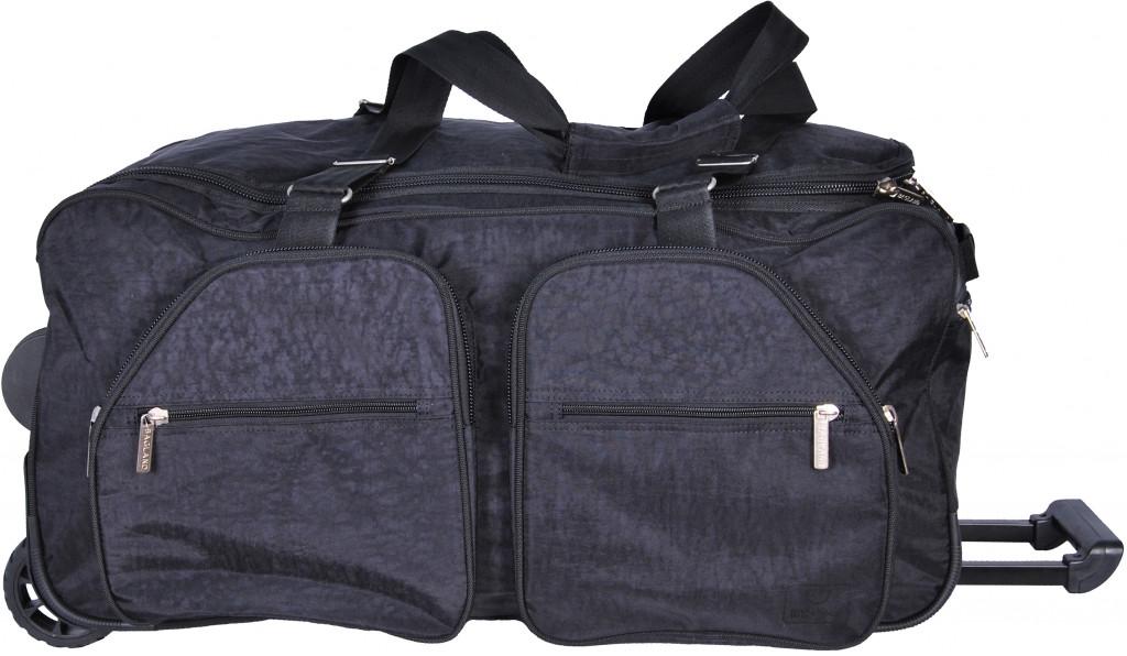 8377230467db Дорожная сумка на колесах BAGLAND 0034970 черная, 82 л - SUPERSUMKA  интернет магазин в Киеве