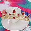 Весільна діадема корона, РУБІНА, Тіара Вікторія, весільні прикраси, фото 4