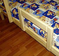 Защитный бортик для детской кровати