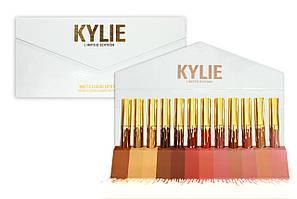 Набор жидких помад Kylie, 12 шт в конверте