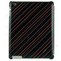 Чехол крышка iPearl Shining Crystal Case iPad new Multicolor Stripe