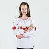 """Вишиванка гладдю """"Веснянка""""  від 7 до 13 років, фото 4"""