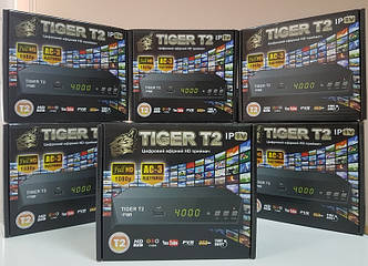 Цифровой эфирный Т2 приемник приставка тюнер DVB-T2 Tiger T2