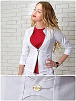 Жакет  женский, модель 12, эрика белый, фото 1