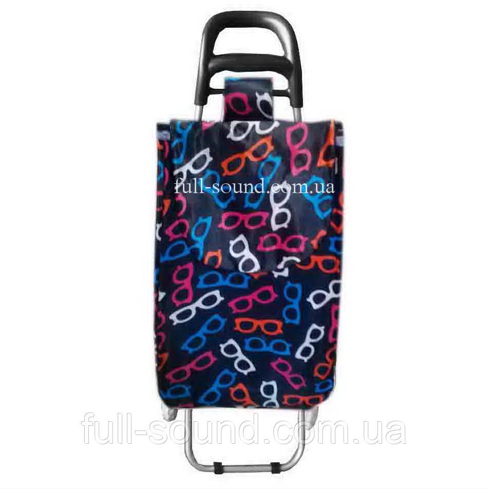 Хозяйственная сумка на колесах очки