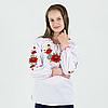 """Вишиті блузки """"Маки"""" от 7 до 16 лет, фото 2"""