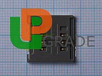 Разъем Sim-карты для LG D285/D325/D380/E455/E615/P715/T370/T375, на две Sim-карты