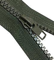 Застежки-Молнии  50см (ТРАКТОР Тип-5) разъемные, цвет № 328 темный-хаки-оттенок