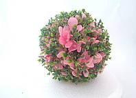 Шар из искусственных цветов