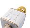 Беспроводной микрофон караоке bluetooth Q7 в чехле, фото 4