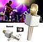 Беспроводной микрофон караоке bluetooth Q7 в чехле, фото 6