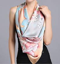 Платки, шарфы из натурального шелка 100%