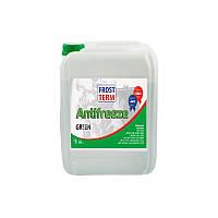 Охолоджуюча рідина (охлождающая жидкость ) FrostTerm Antifreeze G11 green  215л.