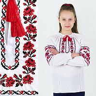 """Вышиванка девочка """"Ожерелье""""  от 7 до 13 лет 9"""