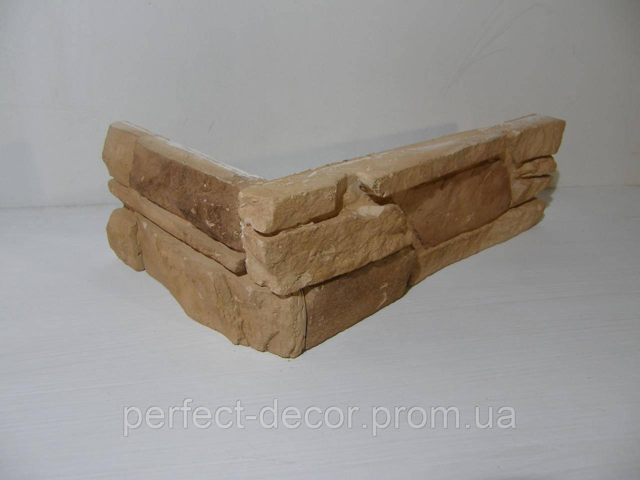 Камень декоративный Сланец (коричневый) угловой - ПП Загария в Черновицкой области