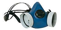 Полумаска защитная лицевая, 2 сменных фильтра. EUROMASK DUO