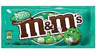 Конфеты M&M's Mint - Мятные