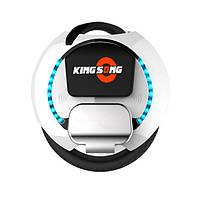 Моноколесо KingSong KS-16А с подсветкой (цвет: белый/чёрный) ёмкость батареи 840 Wh, мощность двигателя 800 W