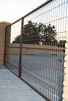 Панель заборна (200х60) (1800х3000)  д4мм 3рж Без покрытия
