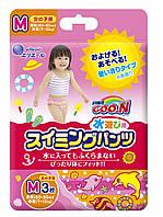 Трусики-подгузники для плавания Goo.N для девочек 7-12 кг ростом 60-80 см размер M, 3 шт (853033)