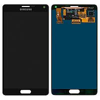 Дисплей Samsung N910H Galaxy Note 4 complete Black