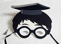 Карнавальная маска  Гарри Поттер  для детских сюжетно ролевых игр.