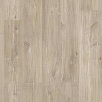 Quick-Step BACL40031 Дуб Каньон, светло-коричневый, распил, виниловый пол Livyn Balance Click