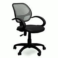 Кресло Байт АМФ-5, сиденье А-1, спинка Сетка серая (AMF-ТМ)