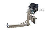 Подвесной лодочный мотор-болотоход MRS-7HP