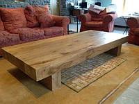 Журнальные столики деревянные с деревянной столешницей