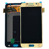 Дисплей Samsung Galaxy S5 G900H Original comlete   Gold 100%