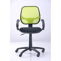 Кресло Байт АМФ-5, сиденье Сетка черная, спинка Сетка лайм (AMF-ТМ)