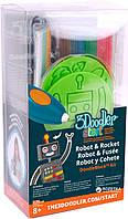 Набор аксессуаров для 3D-ручки 3Doodler Start - РАКЕТА 3DS-DBK-RO