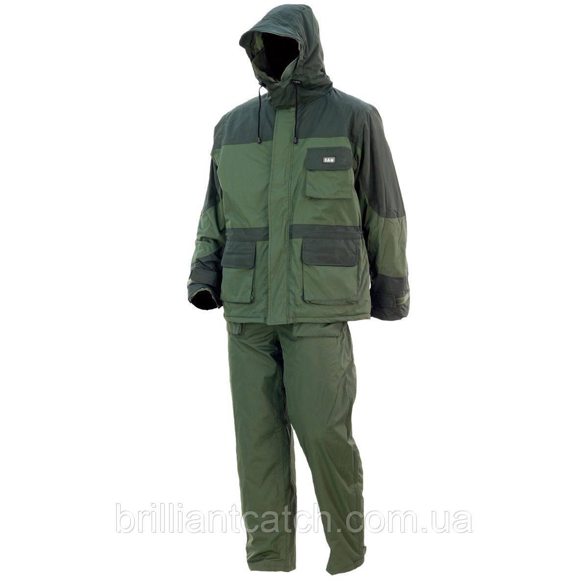 Костюм зимний DAM Thermo куртка+полукомбинезон  XXL