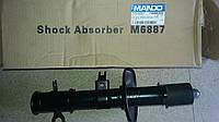 Амортизатор Авео передний левый газ (c ABS) Mando