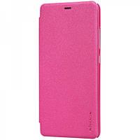 Чехол книжка для Xiaomi Redmi Note 3 / Redmi Note 3 Pro Nillkin розовый
