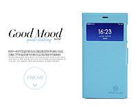 Чехол книжка для Xiaomi MI3 Nillkin голубой