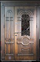Двери полуторные