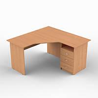 Стол компьютерный угловой 1200*1400*750h мебель для офиса и дома