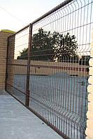 Панель заборна (200х60) (2000х3000)  д4мм 3рж Без покрытия