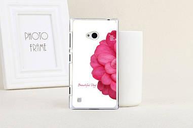 Оригинальный чехол для Nokia Lumia 720 с картинкой пол цветка