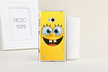 Оригинальный чехол для Nokia Lumia 720 с картинкой спанч боб
