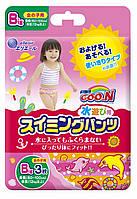 Трусики-подгузники для плавания Goo.N для девочек 12 кг ростом 80-100 см размер Big XL, 3 шт (853037)